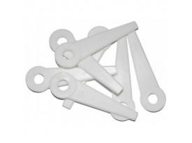 Комплект пластиковых ножей для косильных головок PolyCut (12 штук)